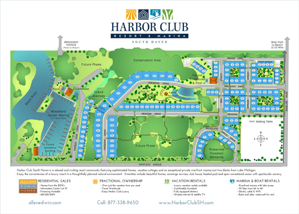 Harbor Club Site Plan