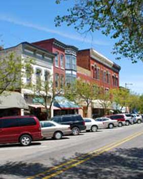 Downtown South Haven Mi